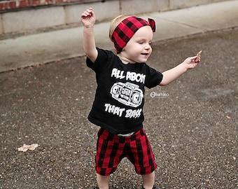 Buffalo Check Baby Shorts/ Toddler Shorts/ Kids Shorts/ Baby Shorties/ Baby Girl Shorts/ Toddler Shorties/ Baby Boy Shorts/ Baby Summer