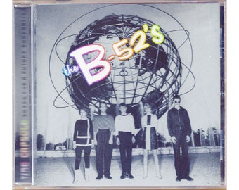 The B-52's Time Capsule Songs for a Future Generation Greatest Hits CD 1998