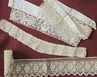 Vintage Lace Trim and Collar