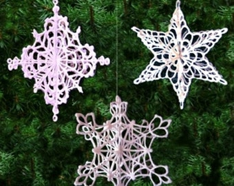 FSL 3D Snowflake Collection- Machine Embroidery Designs