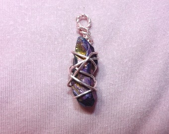 Small Wire Wrapped Pendant