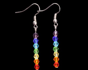 Swarovski Chakra Earrings