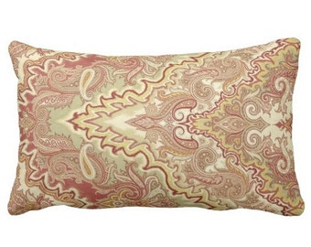 decorative pillows, 12x24 in pillows, 12x24 in covers, large lumbar covers, bed pillows, couch pillows, waverly pillow covers, red pillows