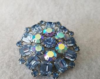Beautiful Blue Brooch