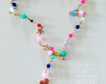 Arc Iris Necklace