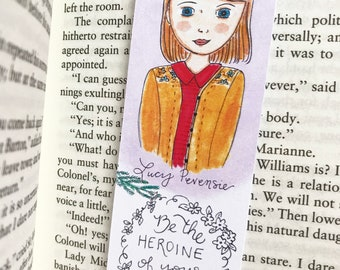 Chronicles of Narnia Bookmark - Lucy Pevensie - Bookmark - literary