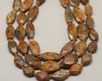 Full Strand Natural Dragon Veins Agate Beads,Drilled Smooth Faceted Agate Stones Slab Slice Loose Beads Jewelry