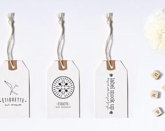 Custom hang tag - Custom price tag - Graphic design - Hang tag design - Clothing hang tag - Brand marketing - Clothing tag design - OOAK