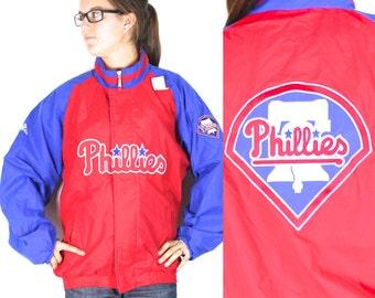 Vintage Retro Philadelphia Phillies Jacket Large