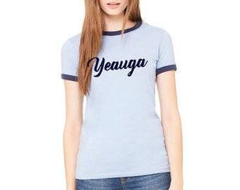 Yeauga Brand Screen Printed Tee - Womens