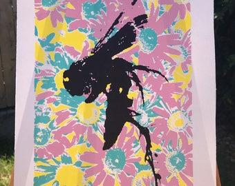 Bees Knees Original Print