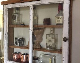 Rustic Window Shadow Box