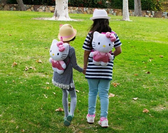 Hello Kitty Plush Back Pack Bag LAST PIECE!