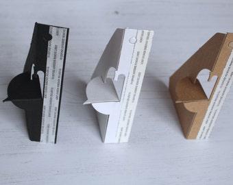 Easel Back Sign Holder - Photo Display - Table Top Easel - Table Number Holder - Reception Sign Holder - Display Easel