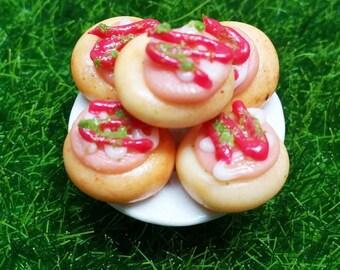 Ham bread recipe in Thick Bottle, Miniature food, Dollhouse, Fairy Garden