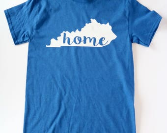 State of Kentucky Home Shirt, University of Kentucky, University of Louisville. Kentucky Shirt