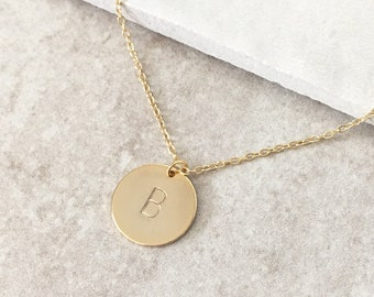 Personalized Initial Necklace,Monogram Necklace,Customized Letter Necklace,Gold Initial Necklace,Bridesmaids Gifts,Gifts for Her, SKU:NP144