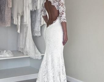 Winter wedding dress | Etsy