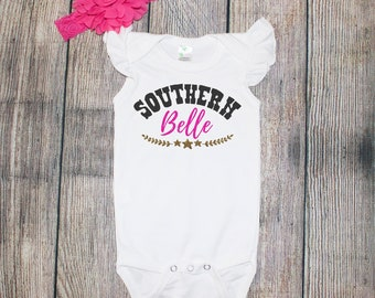 Southern Belle One Piece/Toddler Tee