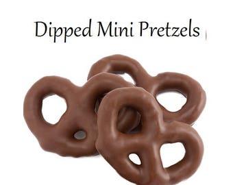 Mini Dipped Pretzels (1 pound)