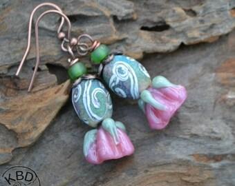 Springtime Flower Earrings #147 earrings