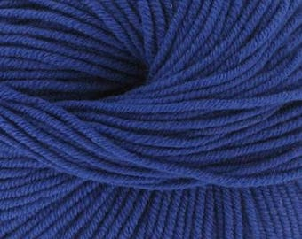 100% Merino Wool blue purple N 51 ° (Katia) - ball 50 gr.
