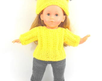 Doll clothing - sweater long sleeves and Pant set