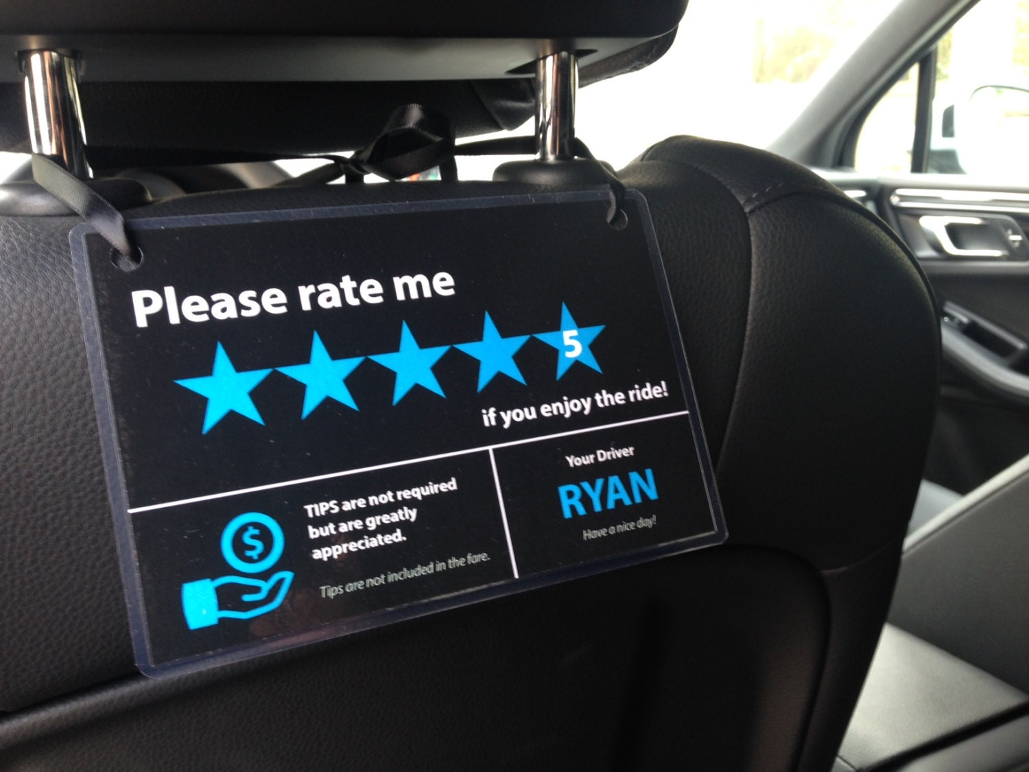 It's just an image of Mesmerizing Uber Lyft Sign Printable