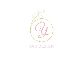 Premade logo, small business logo, branding, logo design