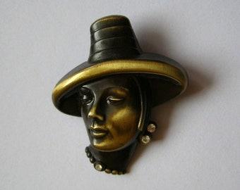 Brooch - Brooch West Germany - women's jewelry - antiquityfrench