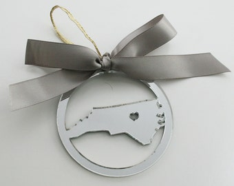 ANY State Personalized Christmas Ornament