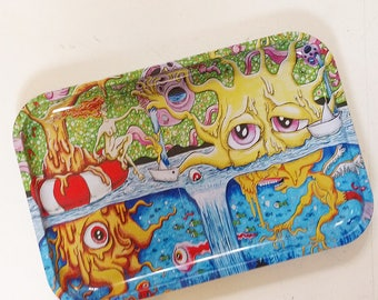 """13"""" x 9"""" Save your Sunshine Rolling Tray"""