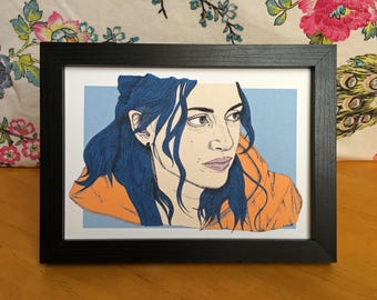 Clementine Eternal Sunshine of the Spotless Mind Art Print