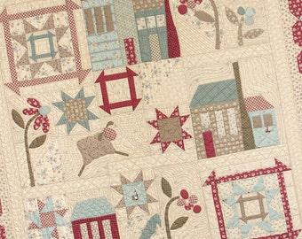 Village Square Quilt Pattern
