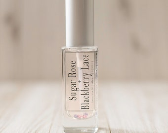 Sugar Rose + Blackberry Lace   New Wylde Ivy House Blends
