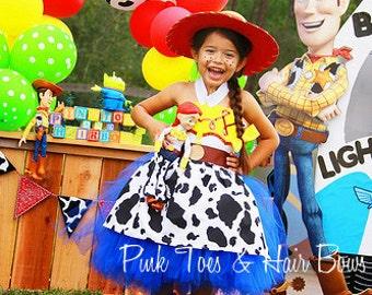 Toy story Tutu dress- Jessie tutu dress- Jessie toy story dress- Toy story costume  sc 1 st  Etsy & Toy story costume | Etsy