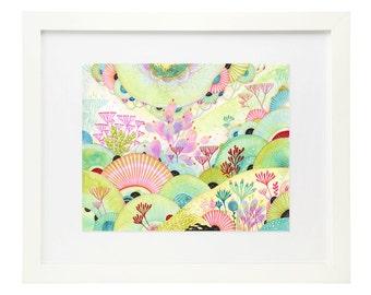 Giclee Fine Art Print - Chartreuse