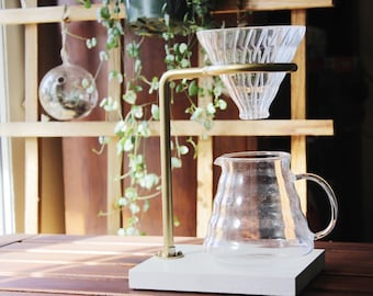 Gold Pour Over Coffee Maker
