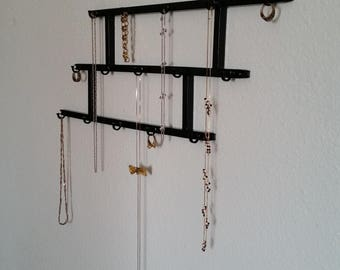 Industrial key rack Etsy