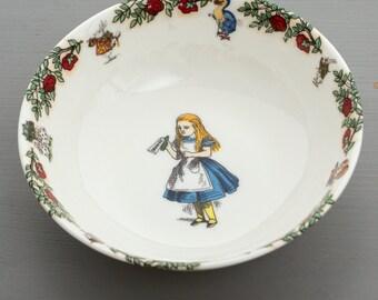 Alice in Wonderland Cereal Bowl