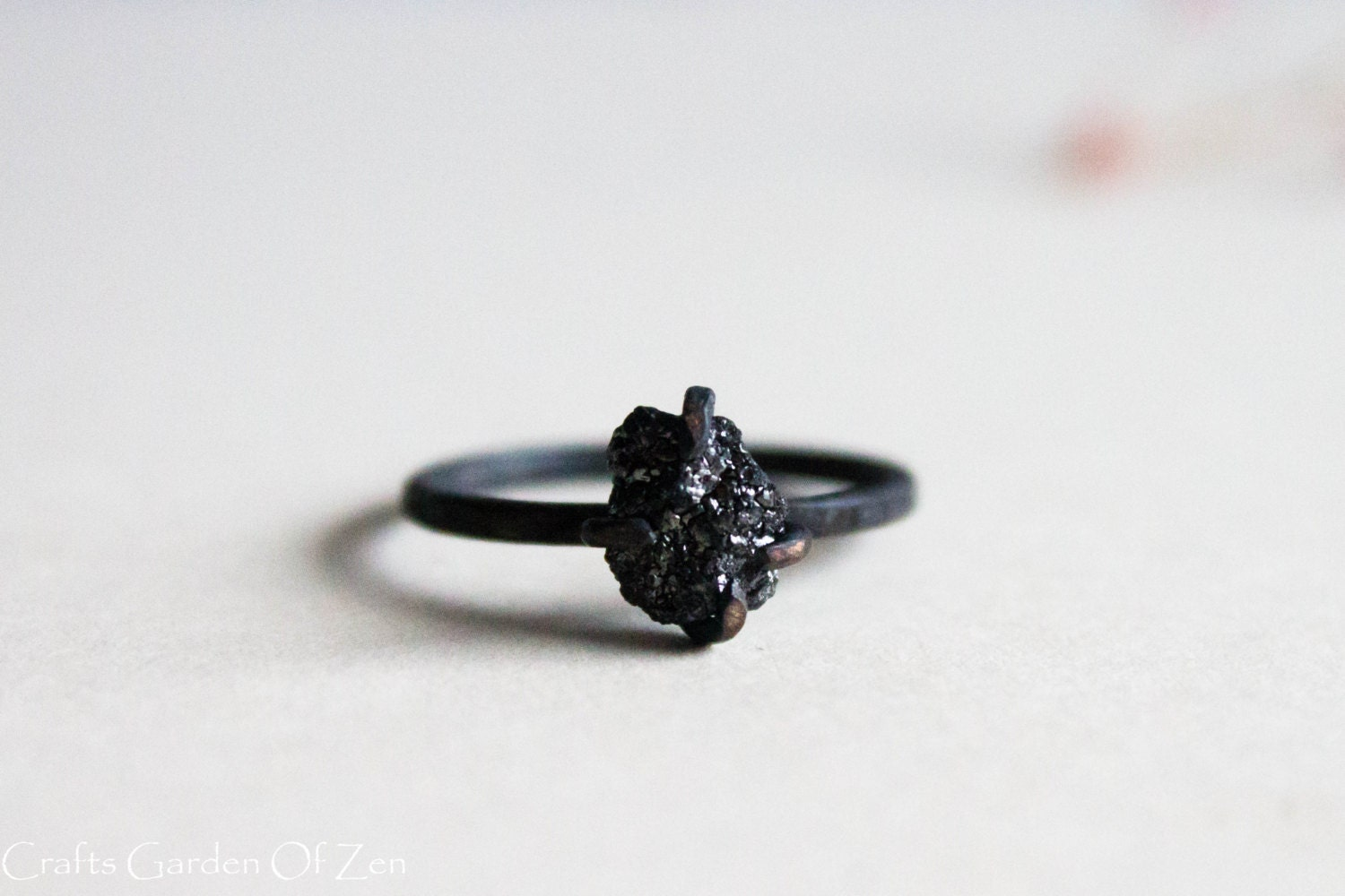 diamond aura jewellery black img catbird ring