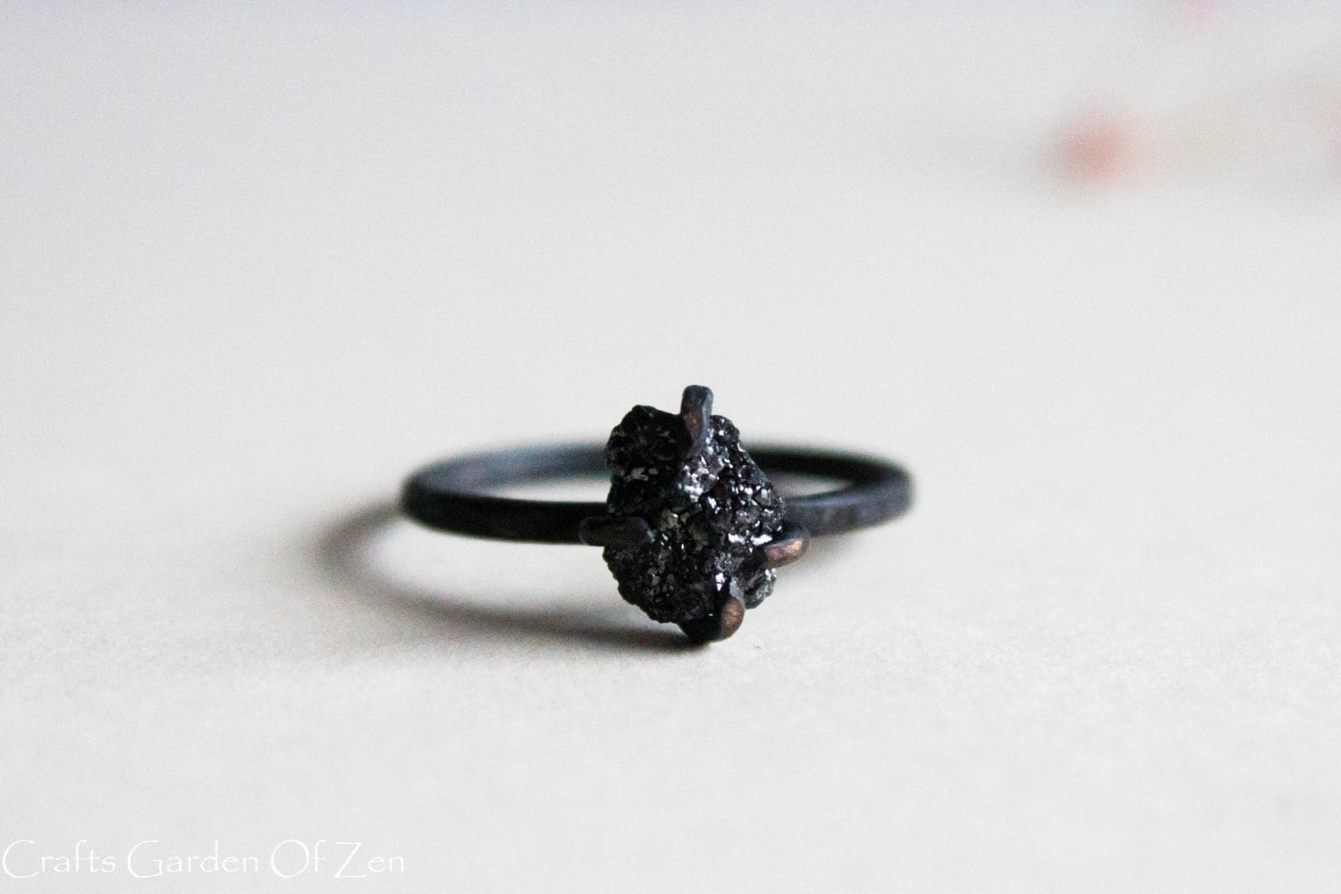 with oxidized products cubic engagement silver zirconia rings v ring black oxidize