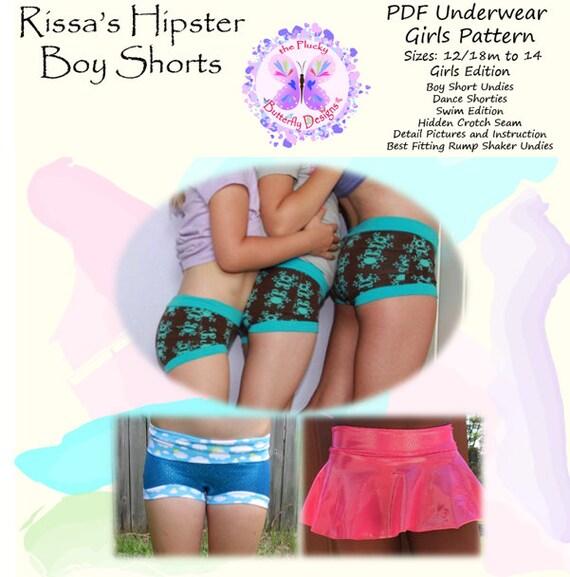 boy shorts on girls