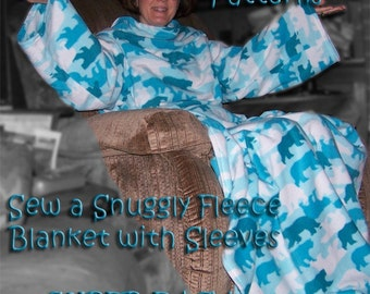 Sew your own SNUGGIE (Adult & Child Sizes) ePattern PDF file