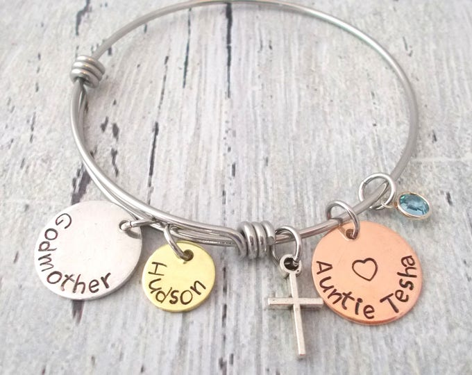 from il godchild gift gifts au bracelet listing godmother
