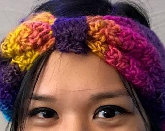 Multi-Colored Ear Warmer / Headband / Head Wrap
