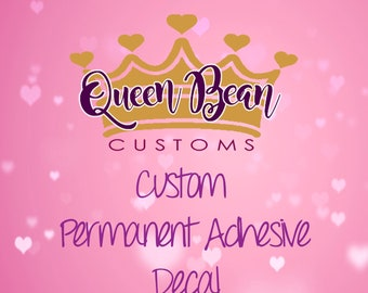 Create Your Own Custom Made Vinyl Decal