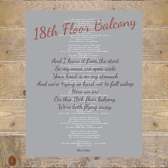 Blue october blue october lyrics 18th floor balcony lyrics stopboris Images