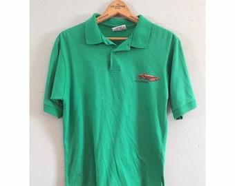 Green Florida Crab Collared Shirt
