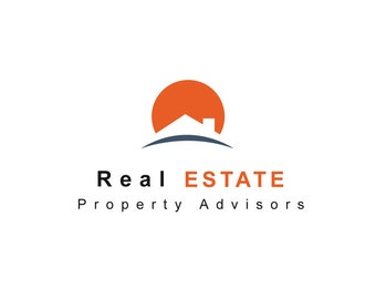 Realestate business logo pre made and customised to your own needs. Instant download.